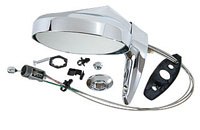 63-76 A Body & 63-70 B Body Left Chrome remote Mirror