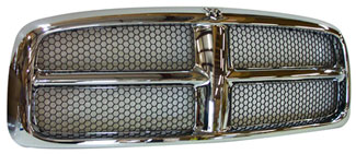 2002-05 Dodge ram Chrome Grille