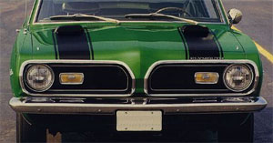 69 Barracuda Hood & Header Stripe