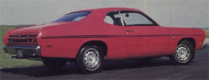 70 Duster Stripe