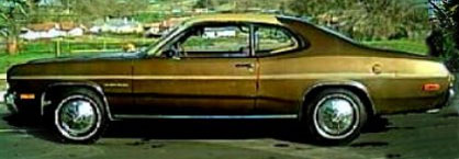 71-74 Gold Duster Stripe
