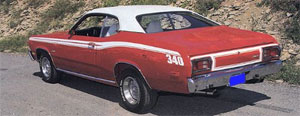 73-74 Duster Stripe