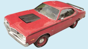 75 Dart Side & Roof Stripe