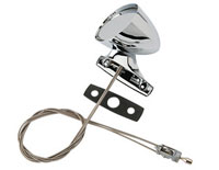 70 E Body Chrome Left Remote Mirror