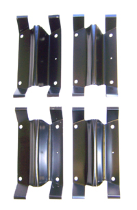FRONT FENDER LOUVER BRACKET SET