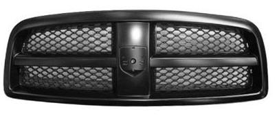 Front Bumper for 2002-2009 Dodge Ram 1500 2003-2009 Ram 2500 Painted Black Steel