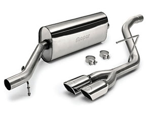 P on Dodge Dakota Dual Exhaust System