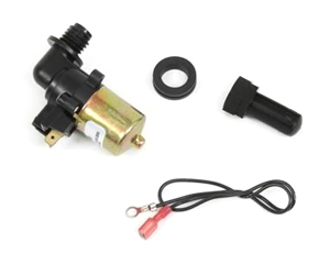 windshield washer pump with filter