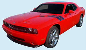 2008-09 CHALLENGER HOOD TO FENDER STRIPES