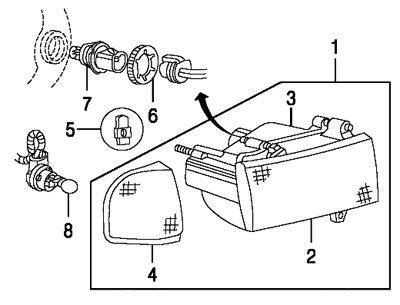 1996 Dodge Ram 1500 Steering Parts Diagram on exhaust system diagram for dodge ram