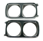 69 Roadrunner Headlight Bezels