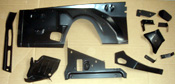 INNER FENDER & BRACKET KIT