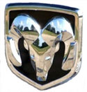 Dodge Ram Rams Head Emblem