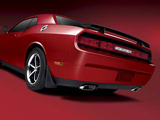 Rear Spoiler on Dodge Oem Parts Diagram