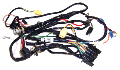 truck headlight harness dodge truck parts mopar parts jim's auto parts 1984 dodge w150 wiring harness at bayanpartner.co